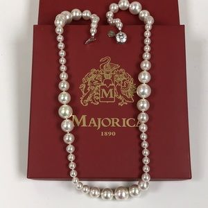 Majorica New Long Pearl Necklace
